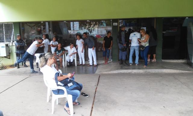 Servidores realizaram protesto na terça, 20. Fotos: Cássia Lima