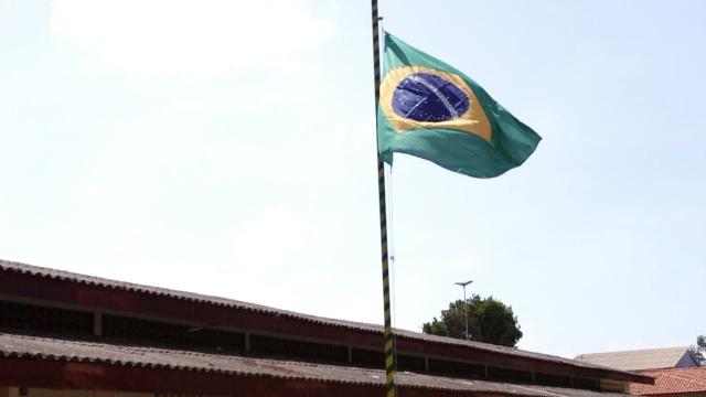 Bandeira Nacional foi substituída