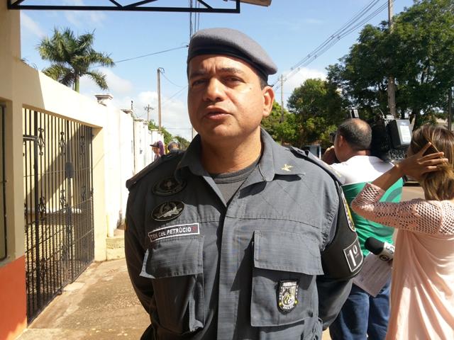 Tenente coronel Petrúcio: