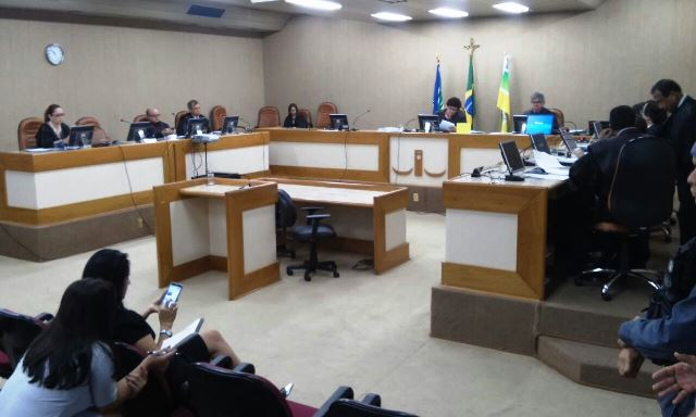 Sessão onde ocorreu a eleição. Fotos: Cássia Lima