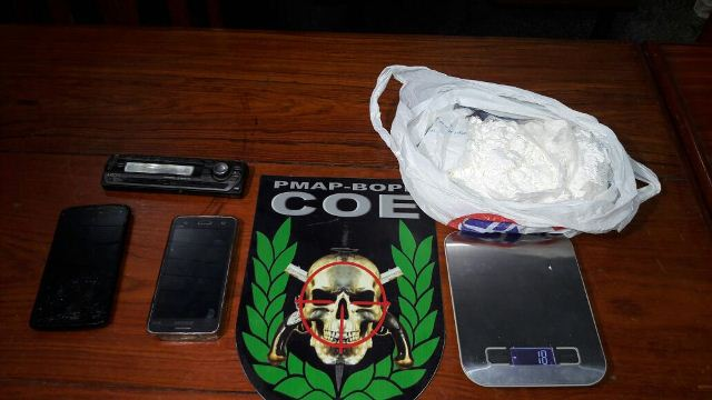 Cocaína apreendida pelo Bope no Jardim 1. Fotos: Bope