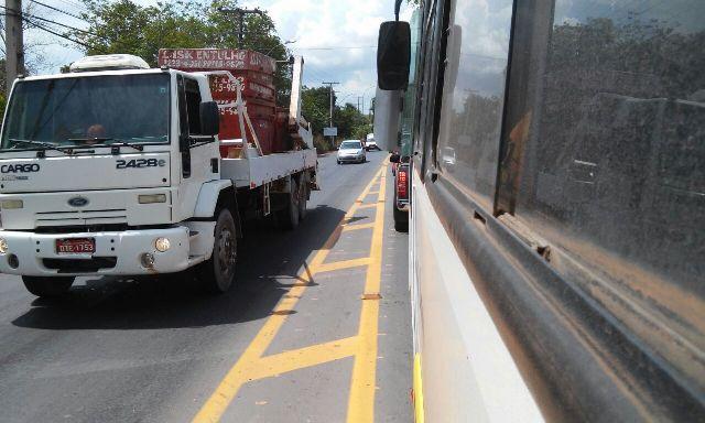 Acidente paralisou o trânsito no sentido Macapá/Santana