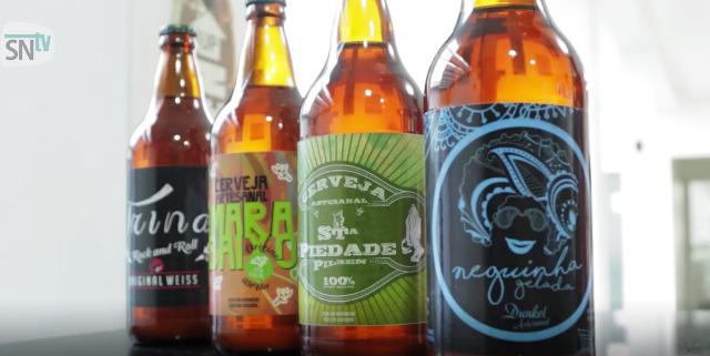 A Trina trabalha na fabricação de 4 tipos de cerveja