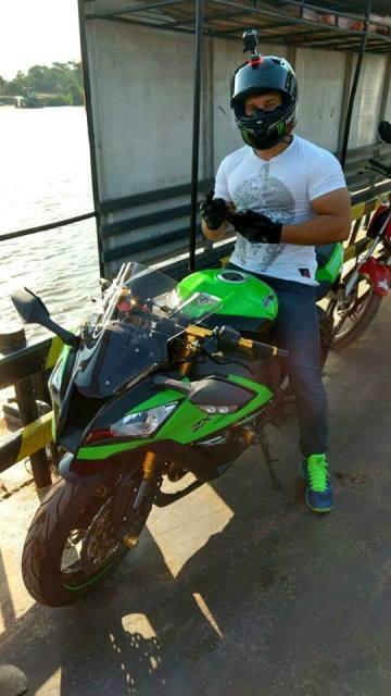 Marcos Juarez e sua paixão: a motocicleta. Fotos: arquivo familiar