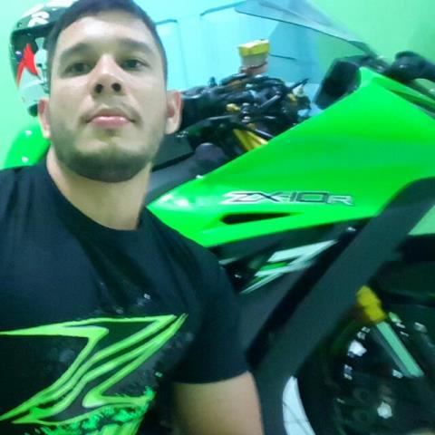 Marcos amava a moto