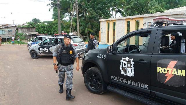 Operação conjunta entre 2ºBPM,Bope BRPM conseguiu inibir ações criminosas nas áreas consideradas de risco. Fotos: Olho de Boto