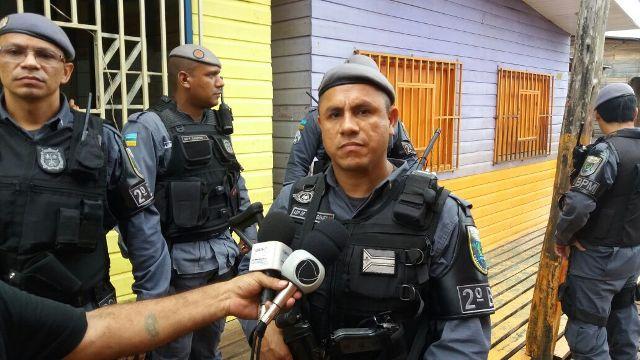 aspirante a oficial do 2º BPM, João Gomes: ação para levar segurança para os bairros da zona norte