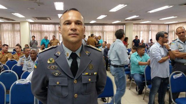 Comandante geral da PM, coronel Rodolfo: divergências pararam o projeto. Foto: Cássia Lima