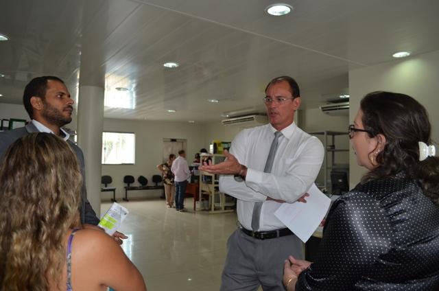 Gastão Calandrini, secretário de Saúde: