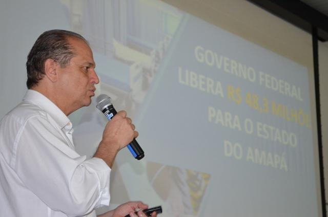 Ricardo Barros anunciou investimentos no sistema de saúde do AP