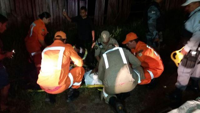 Pais bateram a cabeça e ficaram em observação no Hospital de Emergênca