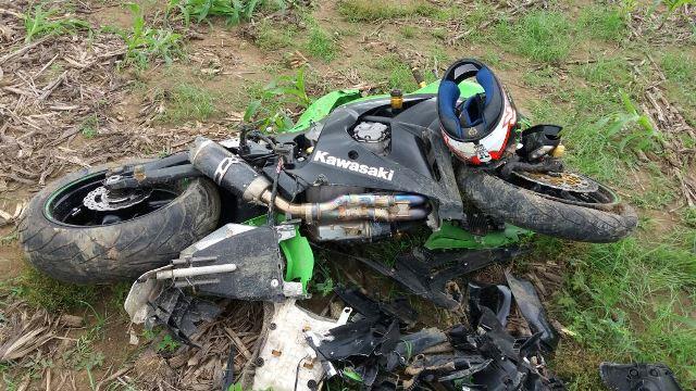 acidente moto 1