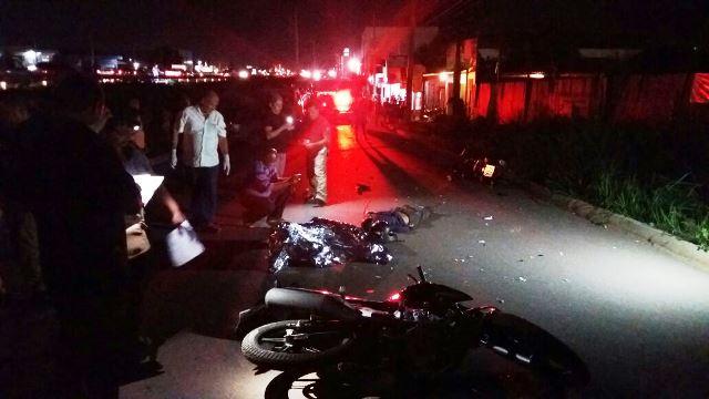Vítima morreu no local do acidente