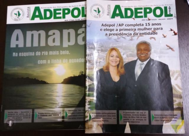 Presidente quer reativar a Revista da Adepol