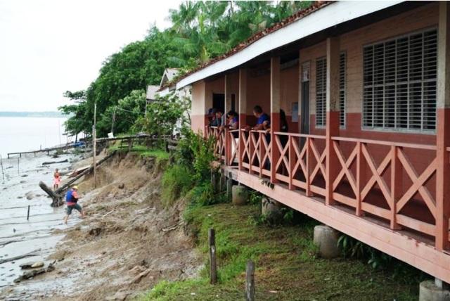 Escola Boa Esperança é uma das unidades escolares que corre risco, segundo Iepa. Fotos: divulgação Iepa