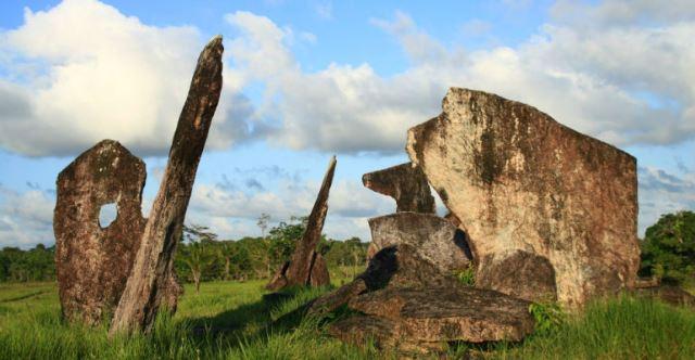 Observatório astronômico e local de rituais funerários. Foto: Vortexmundi