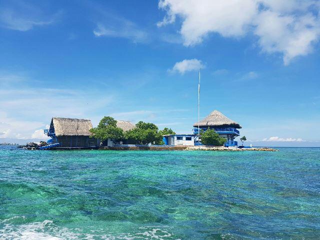 Cartagena é muito frequentada por mergulhadores