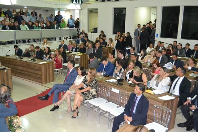 Eleição foi realizada após a cerimônia de posse. Fotos: Graziela Miranda e Seles Nafes