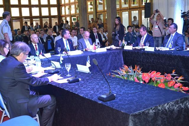 Governadores apresentaram pela primeira vez propostas para área de segurança. Foto: Cássia Lima