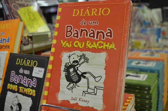 Diário de Um Banana é o quinto mais procurado