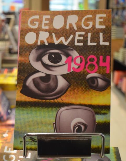 """Visionário """"1984"""", obra que previu o big brother"""