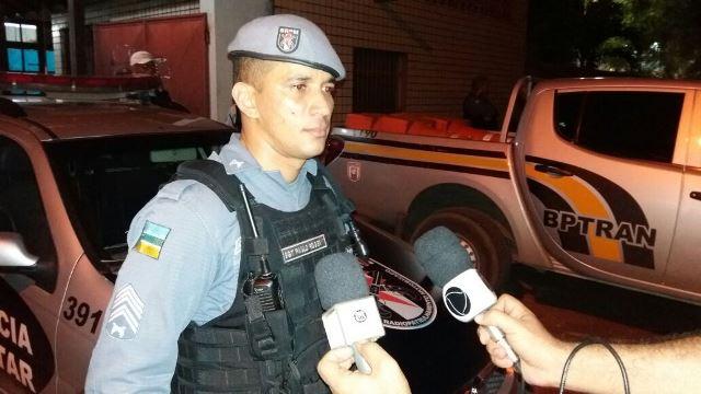 Sargento Paulo Roger: acusado tem envolvimento em crimes de grande repercussão. Fotos: Olho de Boto