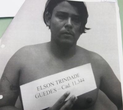 Elson Trindade Guedes está no Iapen por porte de munição ilegal