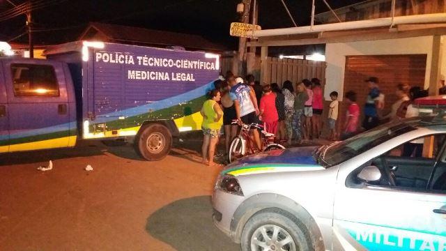 Polícia Técnica remove corpo da vítima, que havia passado no Enem para cursar Direito