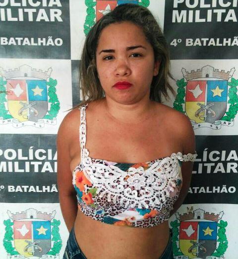 ...e Samara Oliveira, da mesma idade, foram presos pelo crime