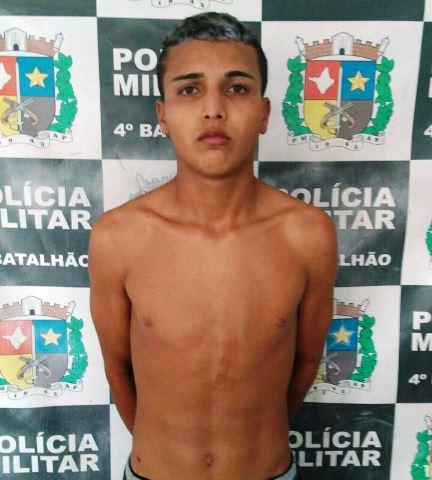 Marcelo Araújo, de 19 anos...