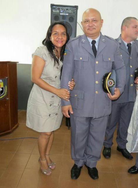 sargento Marcos Augusto Marinho está acompanhado da esposa, em Belém, fazendo o tratamento de um problema renal. Fotos: arquivo familiar