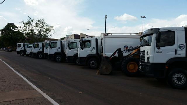 GEA vai arcar com a maior parte do custo de limpeza da cidade. Fotos: Fernando Santos