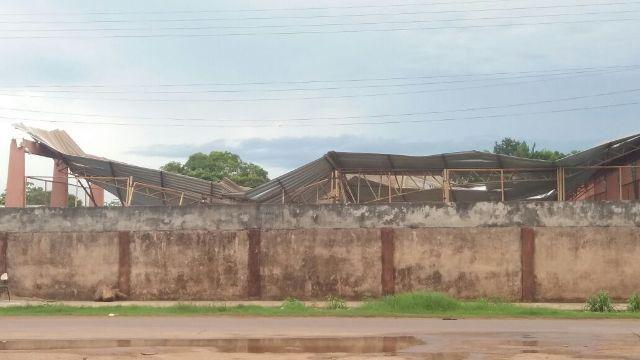 Moradores do Brasil Novo ouviram de longe o barulho do desabamento. Fotos: André Silva