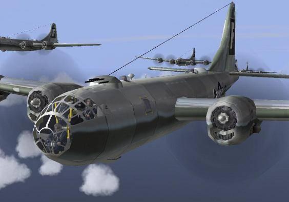Piloto acha que imagem lembrou o B-29. Foto: Reprodução