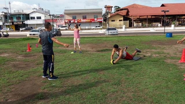 Orla de Macapá, praças e ambientes ao ar livre são ideais para prática de exercícios