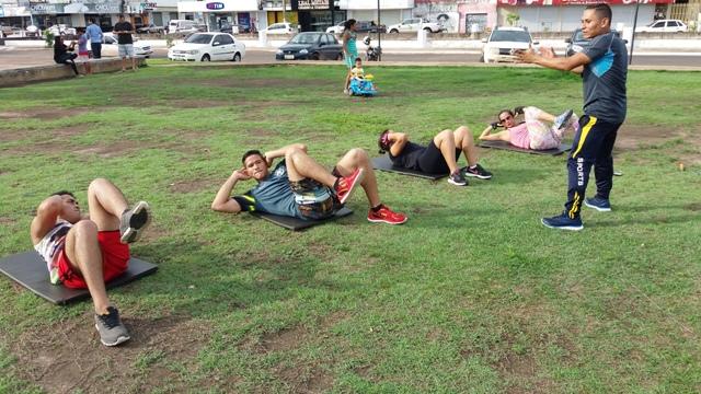 Atividades devem ser praticadas com acompanhamento profissional para evitar problemas. Fotos: André Silva
