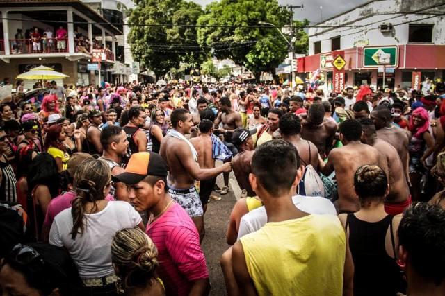 Carnaval para diversão e protesto no bloco que sai no domingo. Foto: Casa Fora do Eixo