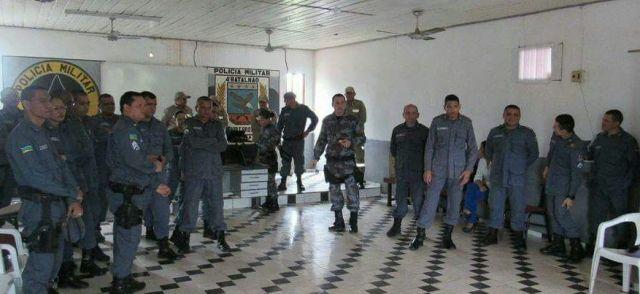 PM segurança do carnaval de Santana