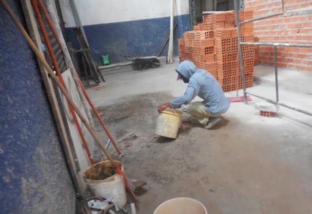 Semob iniciou estruturação do piso
