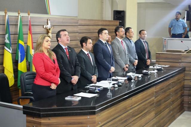 Abertura do ano legislativo de Macapá. Fotos: Cássia Lima