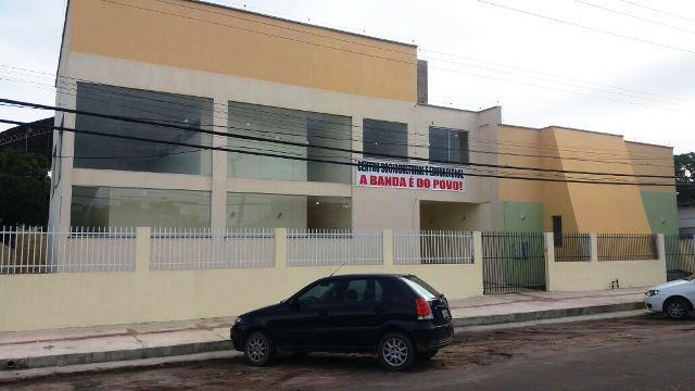 Nova sede também será uma escola. Foto: André Silva