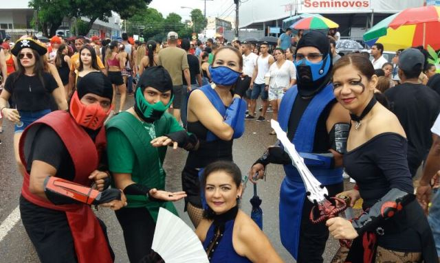 Turma do Mortal Kombat