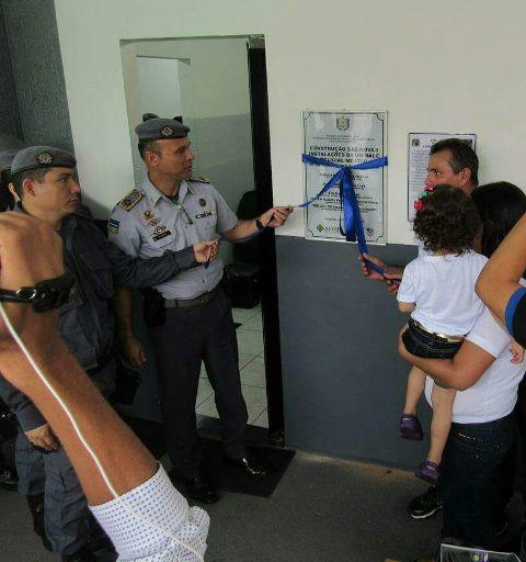 Espaço homenageia policial que se esforçava por criação da base