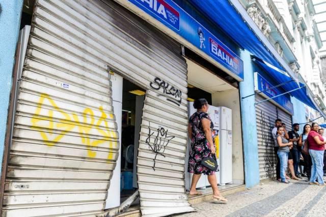 Onda de violência e saques tomou conta do estado desde o início do movimento. Foto: Veja