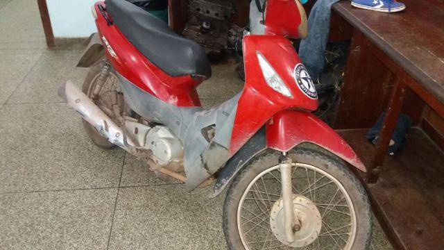 Motocicleta foi furtada no Jardim I