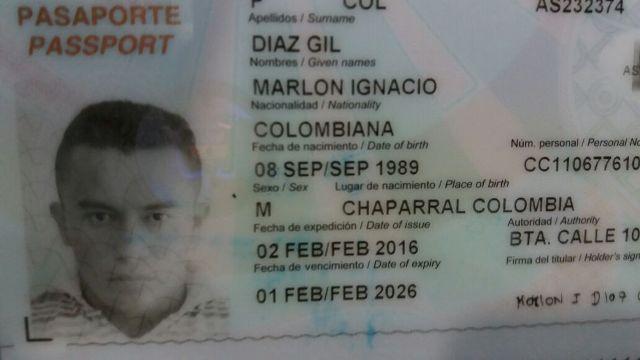 Marlon Ignacio tentou fugir, mas foi interceptado em frente a sua casa. Fotos: Olho de Boto