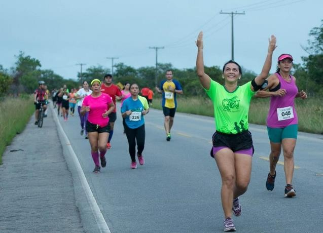 corrida para mulheres
