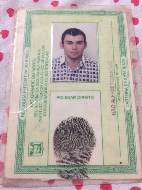 Identidade original de Francisco