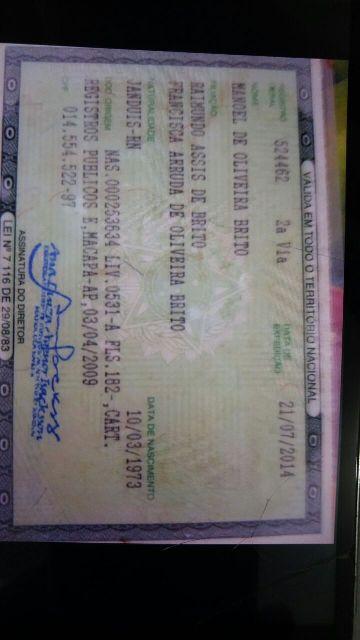 Homem conseguiu emitir uma série de documentos falsos, mudando de nome e até de idade