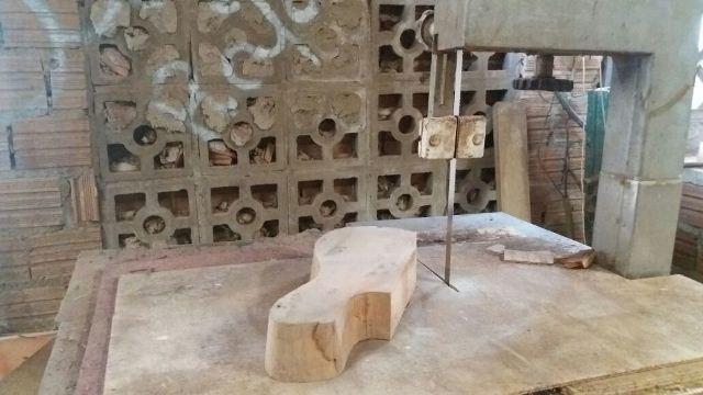Processo de fabricação de instrumento. Fotos: André Silva